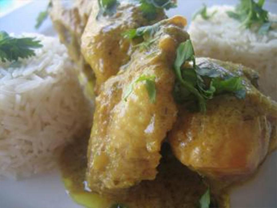 Recetas FussionCook: Arroz con curry de coco (FC Home cooking).