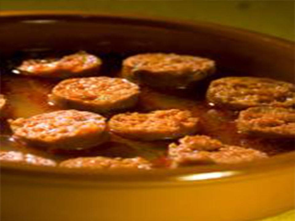 Recetas FussionCook: Chorizos a la sidra (FC Touch Advance)