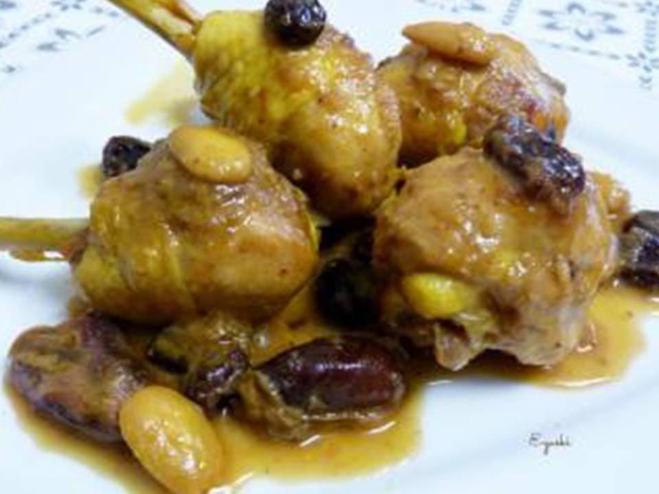 Recetas FussionCook: Delicias de pollo a la Moruna.