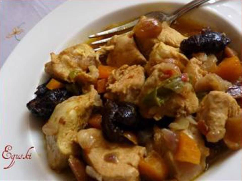 Recetas FussionCook: Pechugas de pollo con frutos secos al Ras El Hanout.