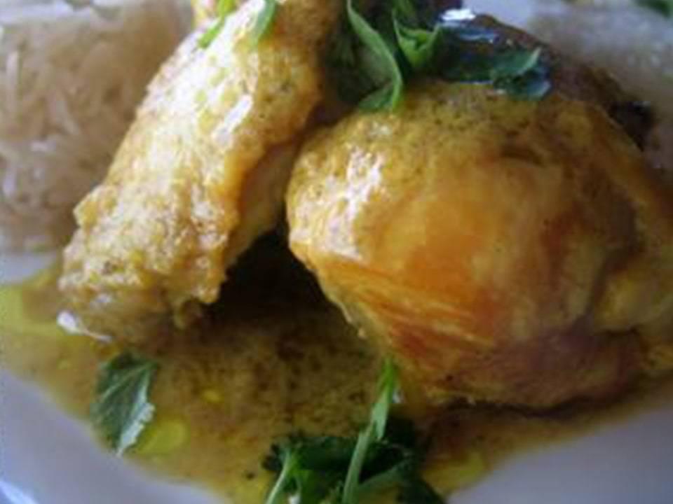 Pollo con Curry de Coco FC