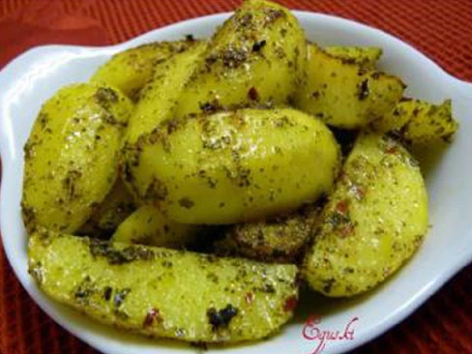 Recetas FussionCook: Patatas al Chimichurri.