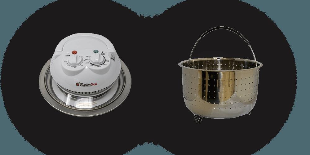Tapa de horno y Vaporera para la FC7 Smart