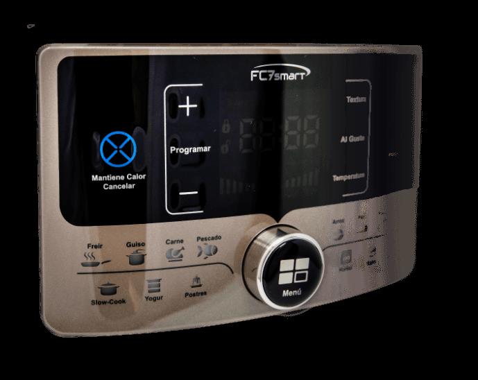 Panel de control de la olla FC7 Smart
