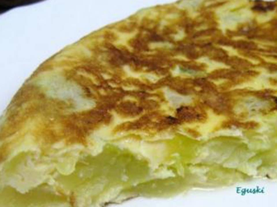 Tortilla De Calabacín.