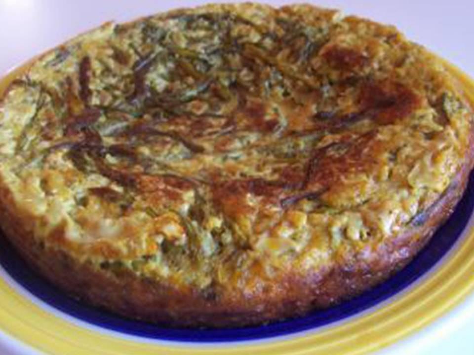 Tortilla de Esparragos.
