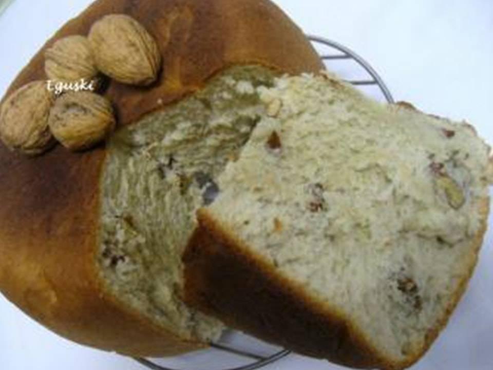 Pan De Roquefort Con Nueces.