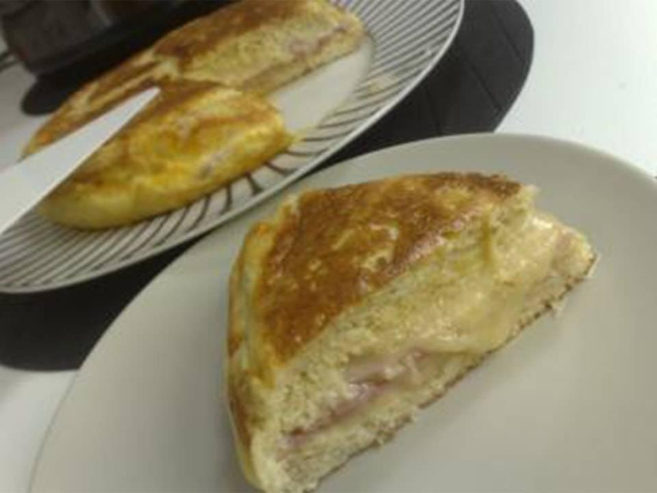 Sandwichón De Jamón y Queso (FC Home cooking)
