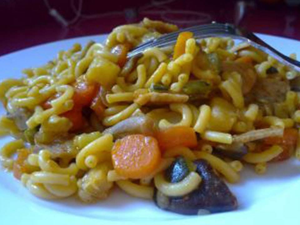 Fideuá de Pollo (FC Home cooking)