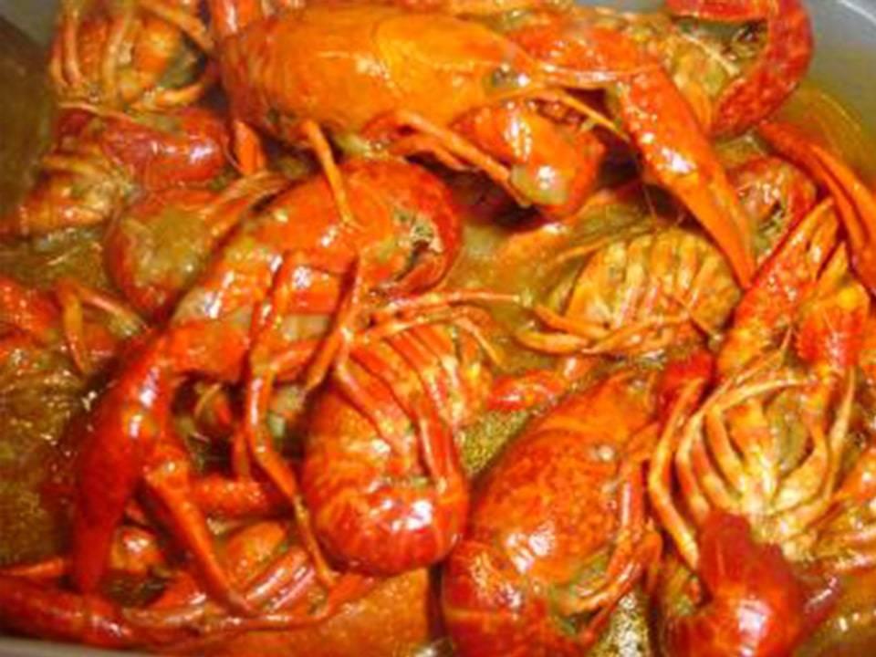 Cangrejos de Rio Guisados.