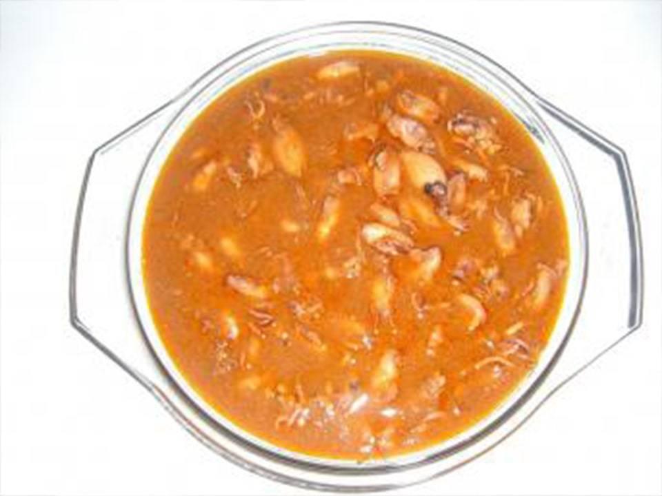 Chipiron-Puntilla en Salsa Picante.
