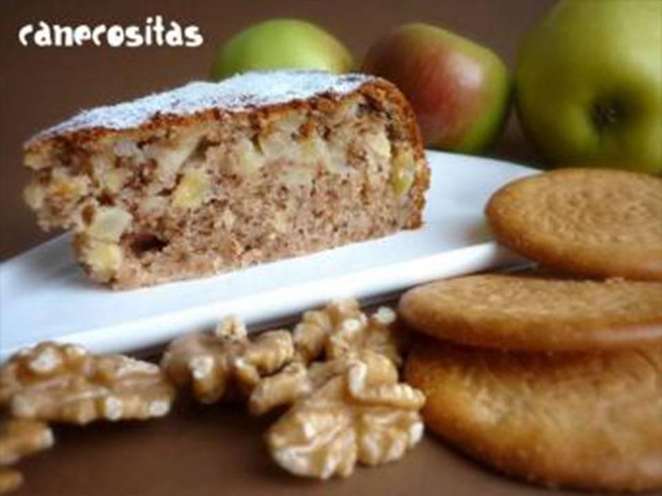 Bizcocho de Galletas y Manzana