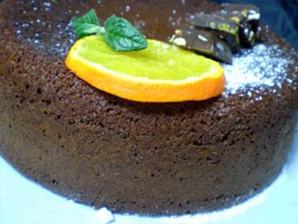 Cake de Chocolate y Naranja