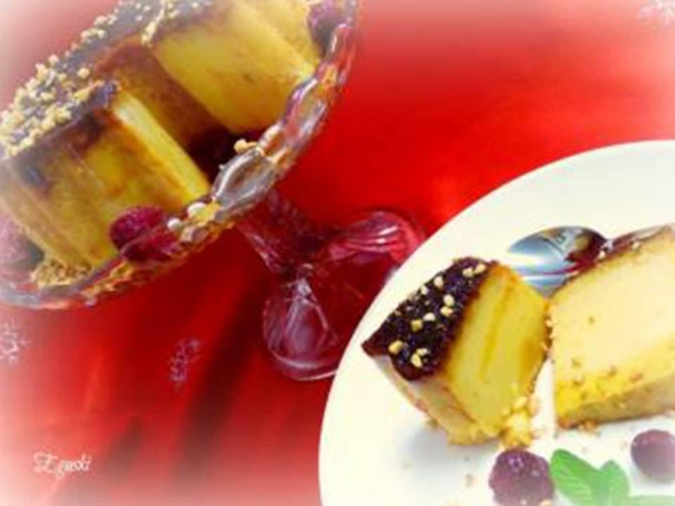 Recetas FussionCook:Pudding se roscón de reyes.