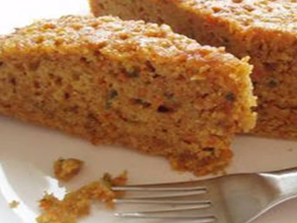 Recetas FussionCook: Bizcocho de zanahoria, nueces y canela.