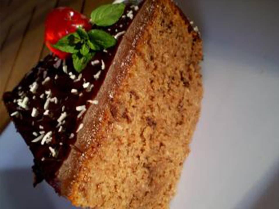 Recetas FussionCook: Tarta Borracha de chocolate y coco.