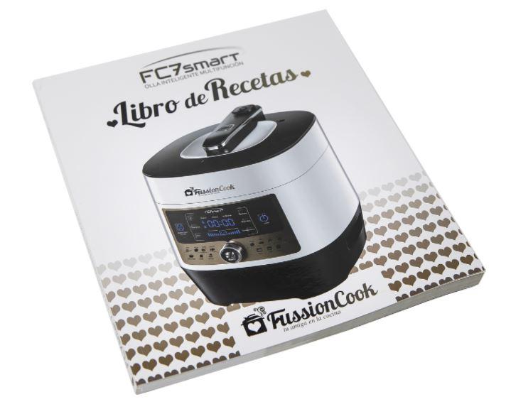 Imagen del recetario gratuito con la compra de nuestro robot de cocina SF7 Smart