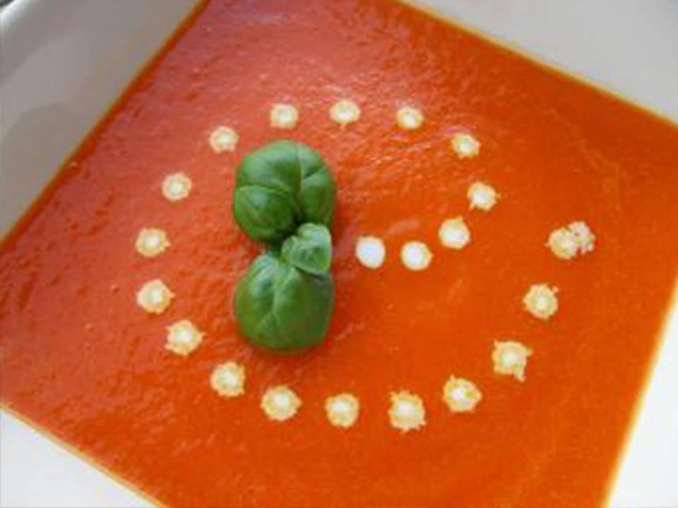 Recetas FussionCook: Crema de pimientos rojos (FC Home cooking)