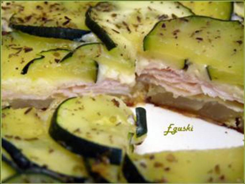 Pastel de Patata y Calabacín