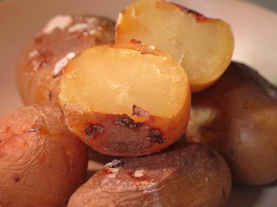 Recetas FussionCook: Patatas asadas (FC Home cooking).