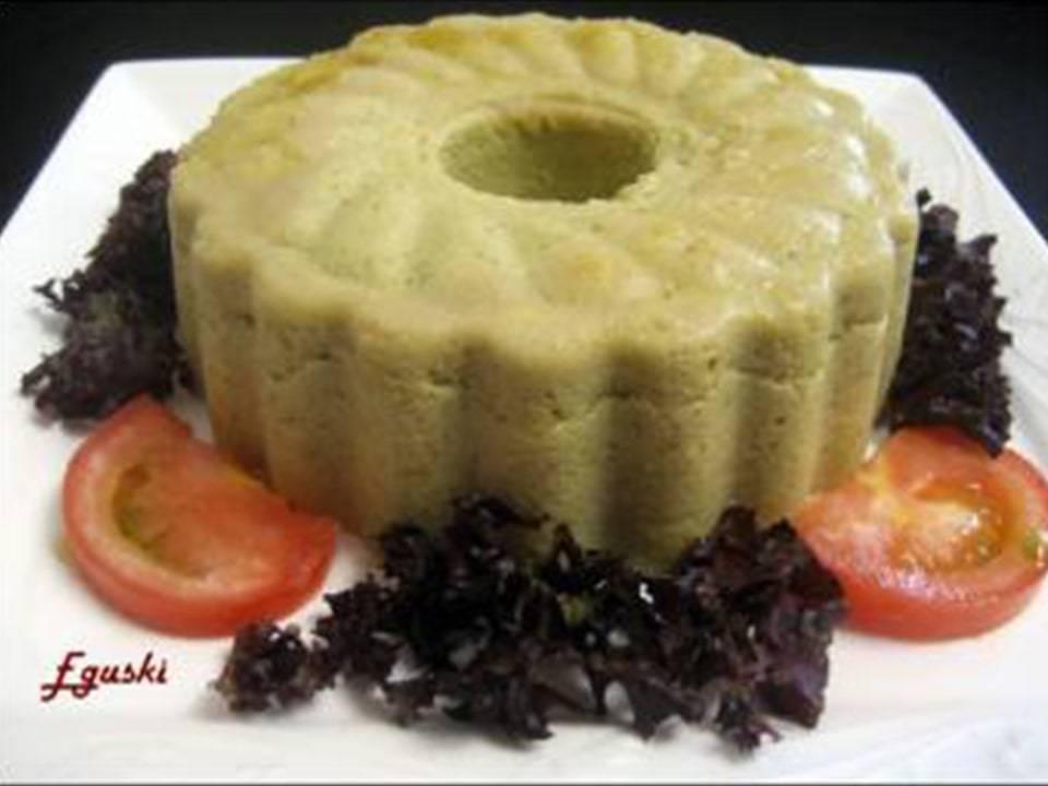 Pudding de Brócoli y Mozzarella.